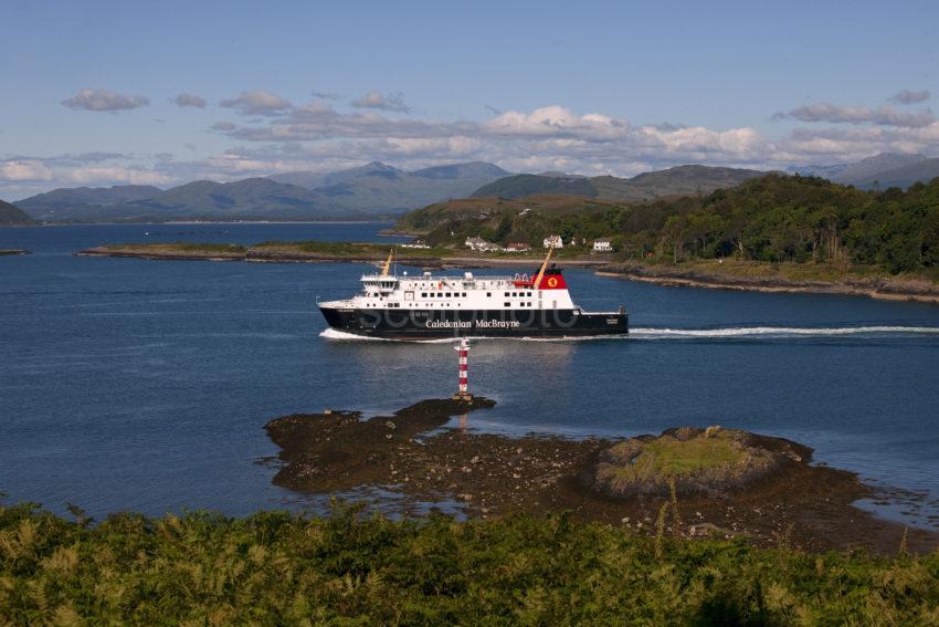 MV Finlaggan Passes North End Of Kerrera MEDIUM