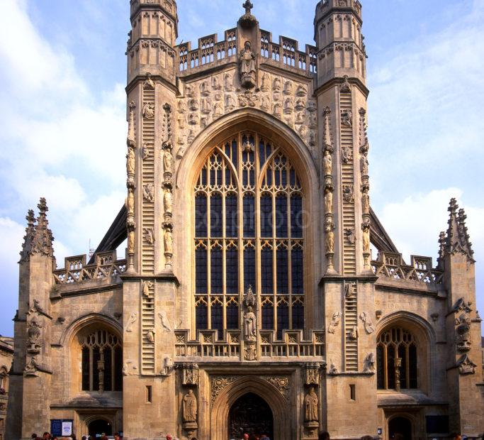 West Front Bath Abbey