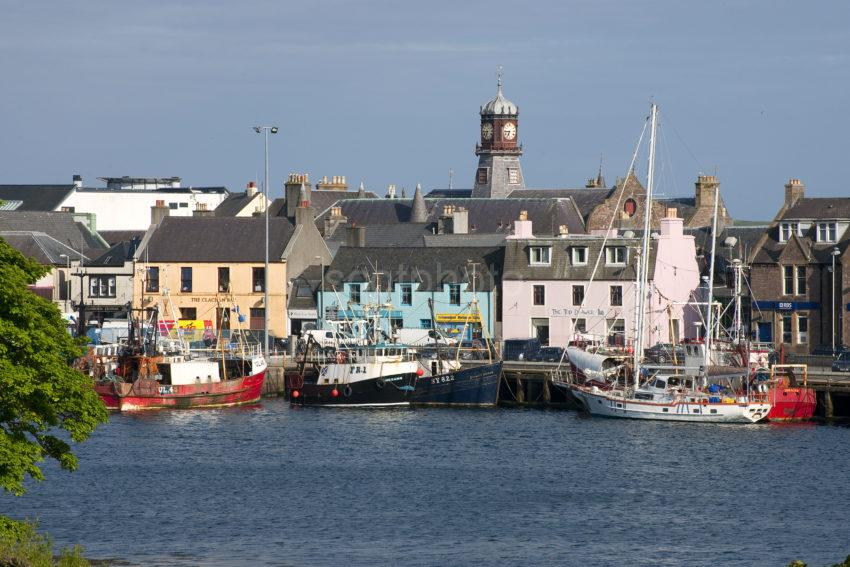 Stornoway Town And Harbour Isle Of Lewis SMALL
