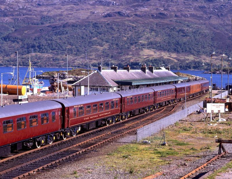 Royal Scotsman At Kyle Station