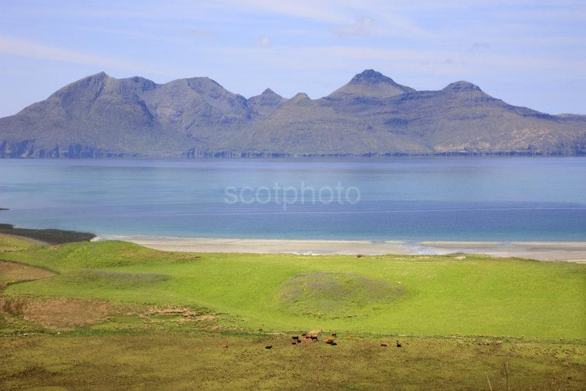 Great View Of Rum From Eigg