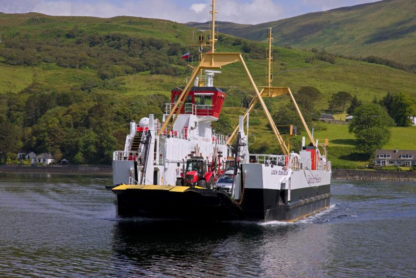 Loch Dunvegan Fully Loaded Crosses From Colintrive To Bute