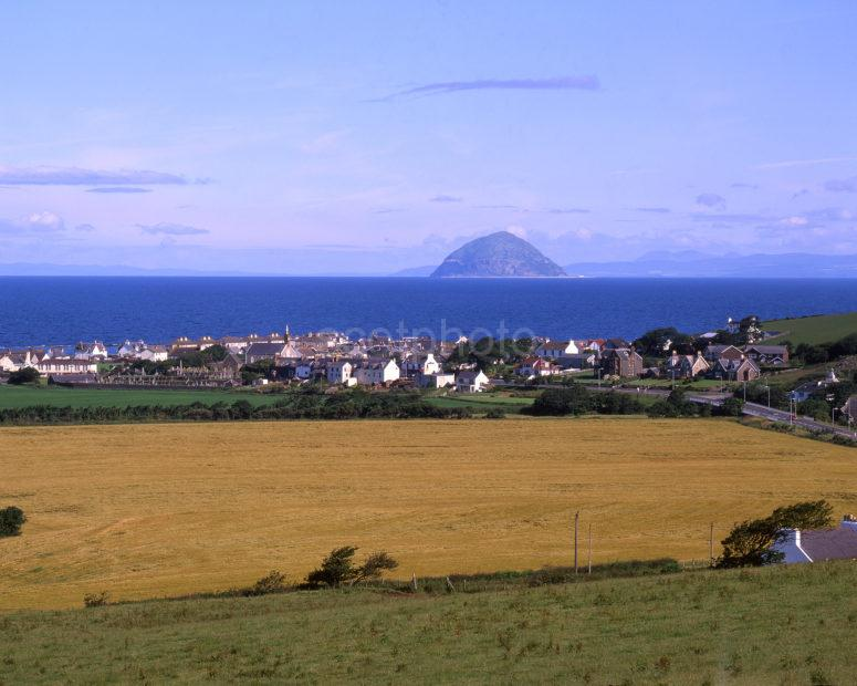 Towards Balentrae Community And Ailsa Craig South Ayrshire