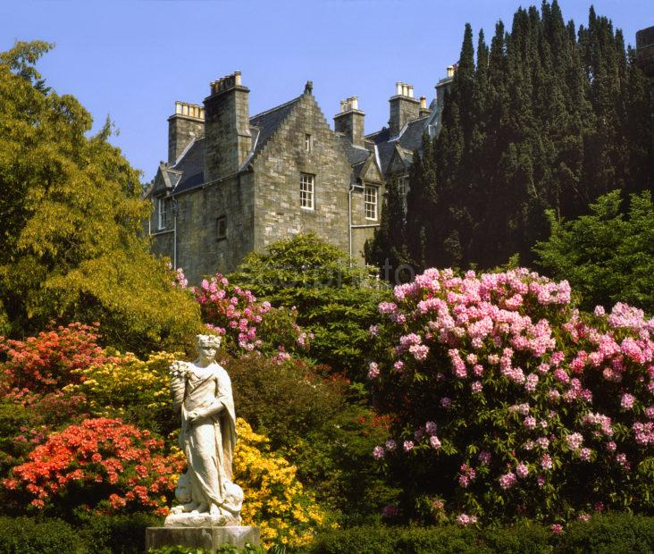 Torosay Castle And Statue Garden Island Of Mull
