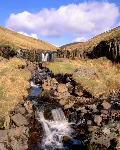 Wild Remote Scenery In The Campsie Fells
