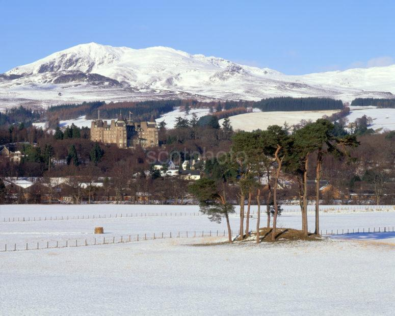 Towards Pitlochry In Winter