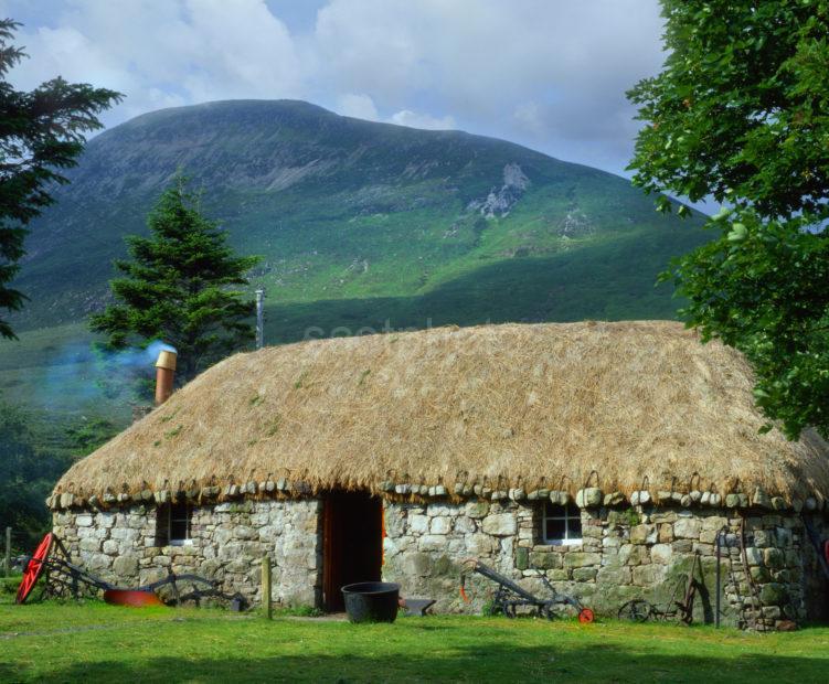 Thatched Croft At Luib Isle Of Skye