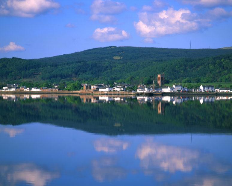 Inveraray From Across Loch Fyne