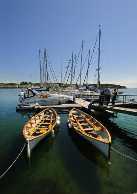 Yachts And Rowing Boats Port Ellen Islay