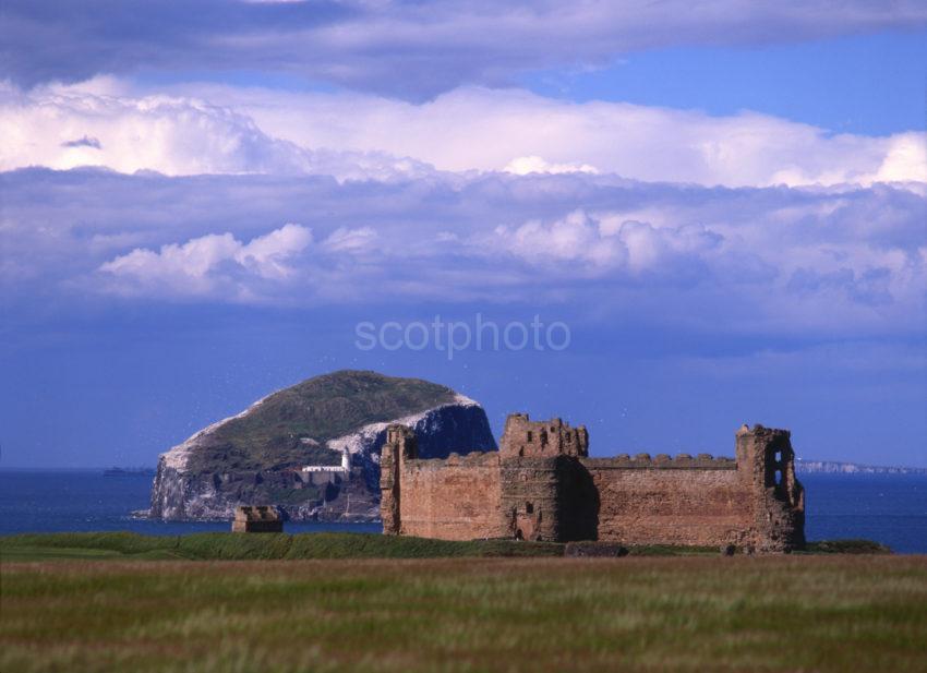 Tantallon Castle East Lothian