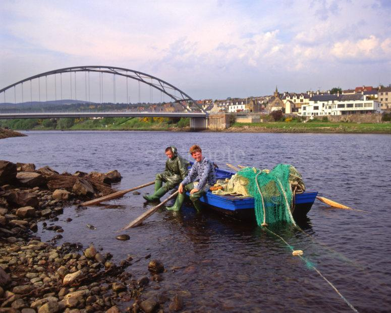 Fisherman Bonar Bridge