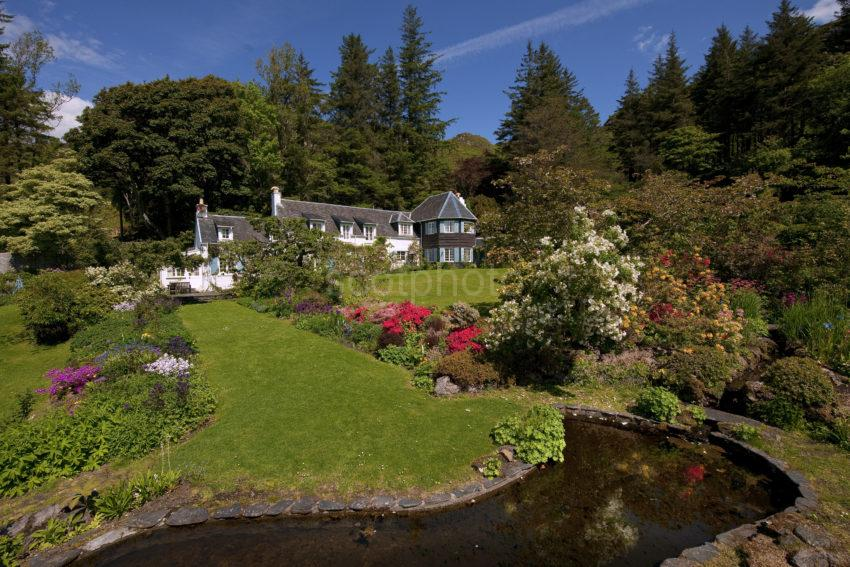 Elevated View Of An Cala Garden Easdale