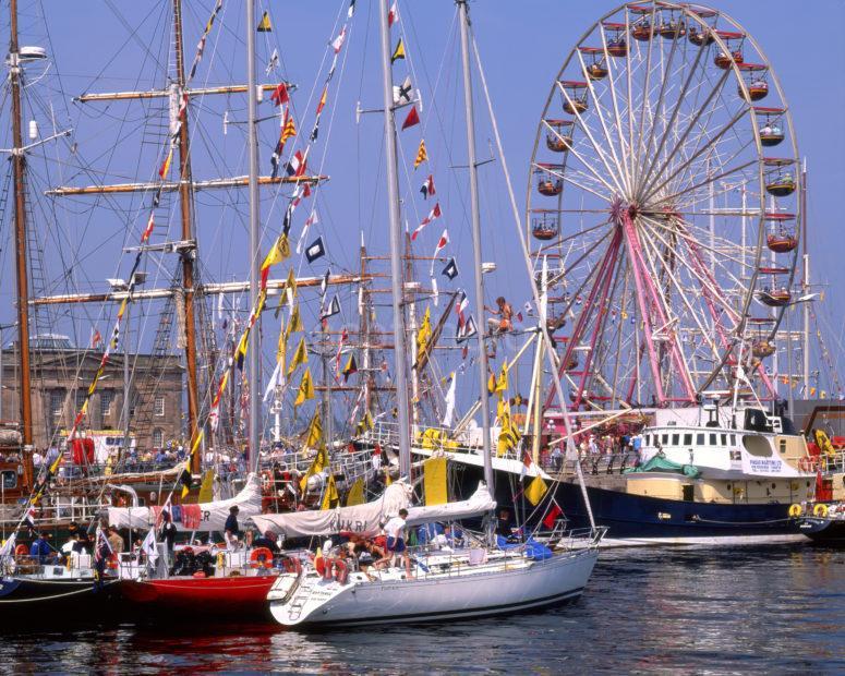 Tall Ships Race Visits Greenock