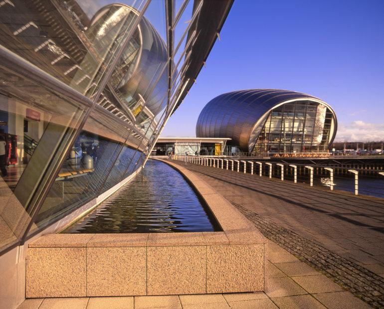 The Glasgow Science Museum River Clyde