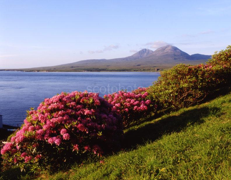 The Paps Of Jura From Port Askaig Island Of Islay