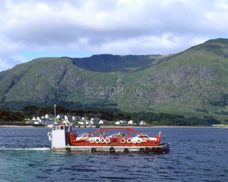 Archive Picture Of The Corran Ferry In The 70s