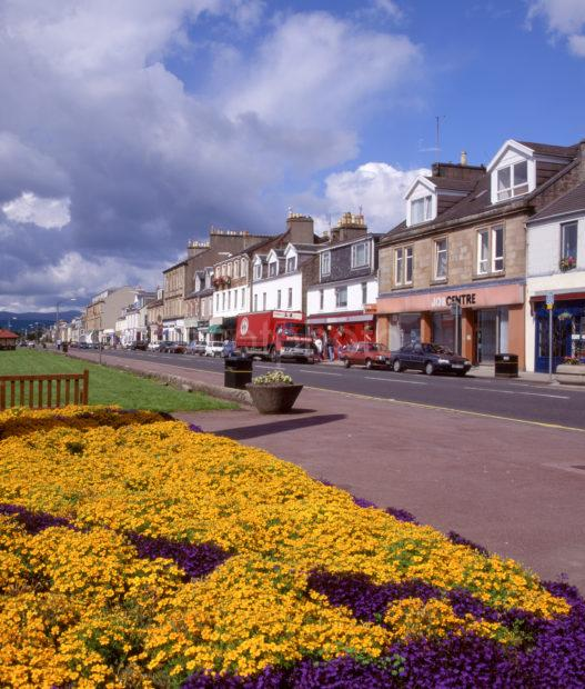 Helensborough Town Centre Esplanade Argyll