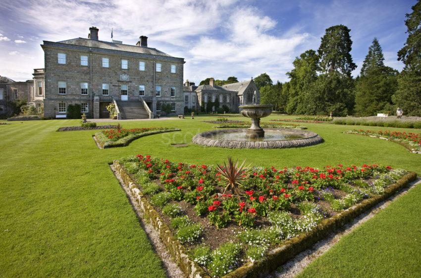 0I5D0278 Haddo House And Beautiful Gardens Aberdeenshire