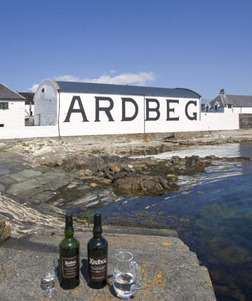 I5D0753 Ardbeg Distillery And Whisky Islay