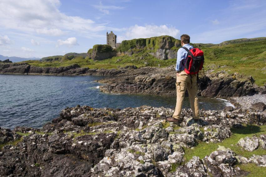WY3Q5284 Gylen Castle Isle Of Kerrera