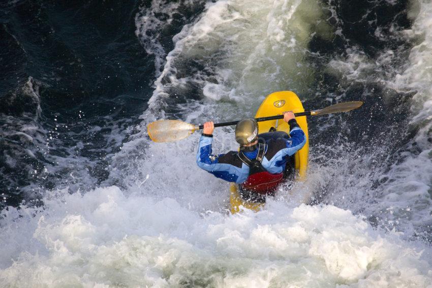Kayaking Falls Of Lora Loch Etive Argyll