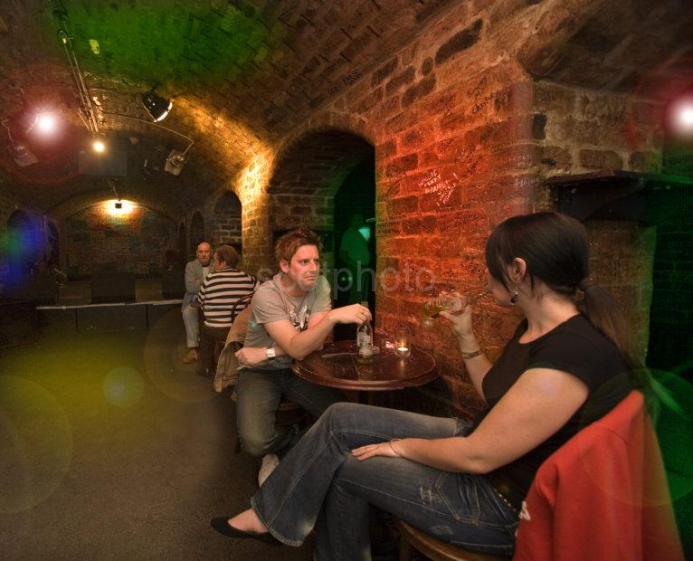 Inside The Cavern In Mathew Street