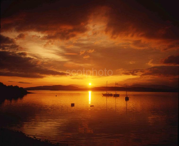 Firth Of Lorne Sunset