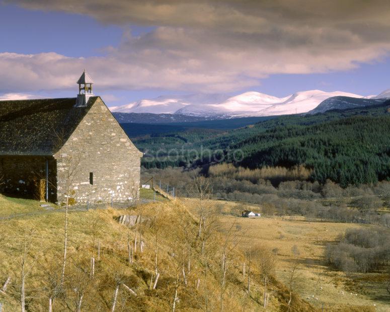 Church Overlooking Glen Spean