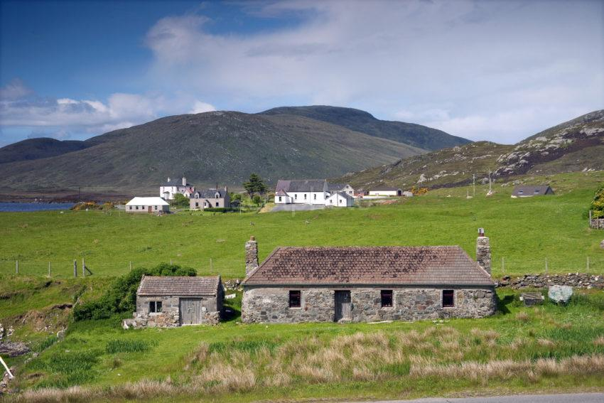 Scattered Community At Leverburgh Harris