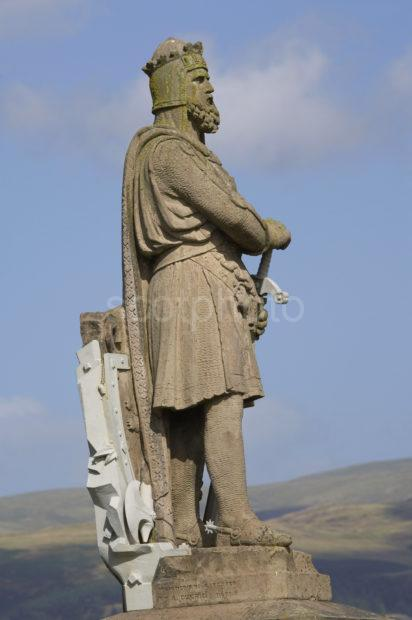 ROBERT THE BRUCE STATUE STIRLING
