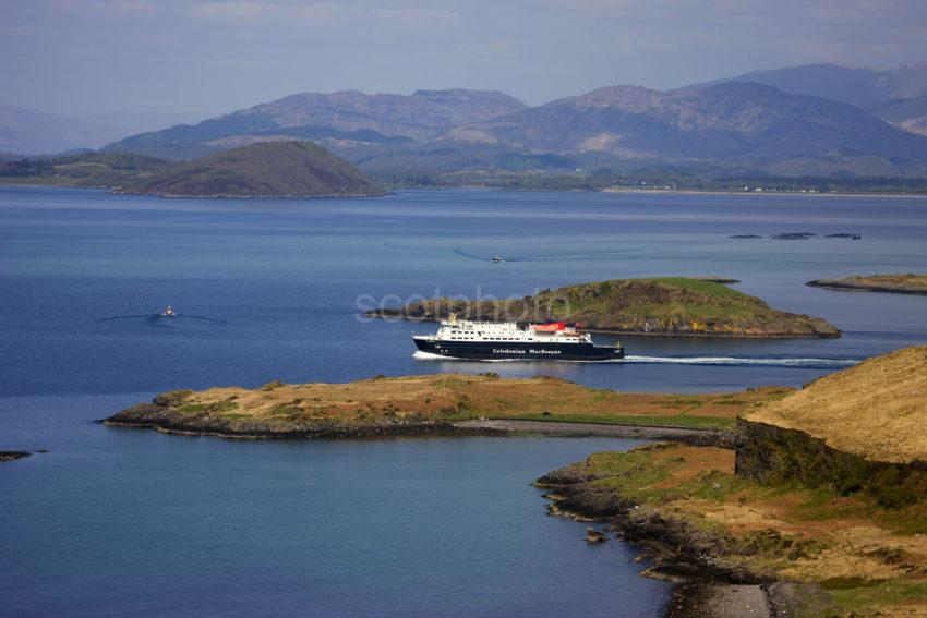 Clansman Passes Tip Of Kerrera And Maiden Island