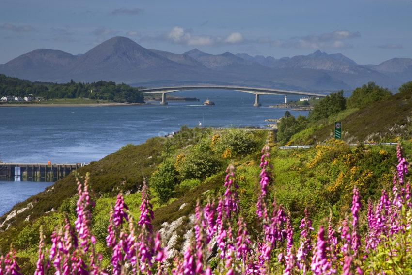 I5D6383 Towards The Island Of Skye From Kyle Of Lochalsh