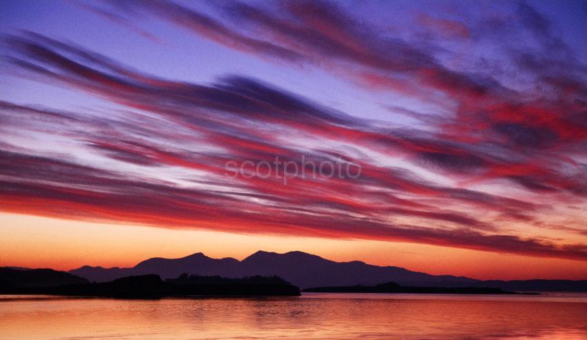 Panoramic Sunset Mull