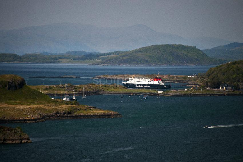 ACROSS KERRERA TO MV FINLAGGAN AFTER DEPARTING OBAN