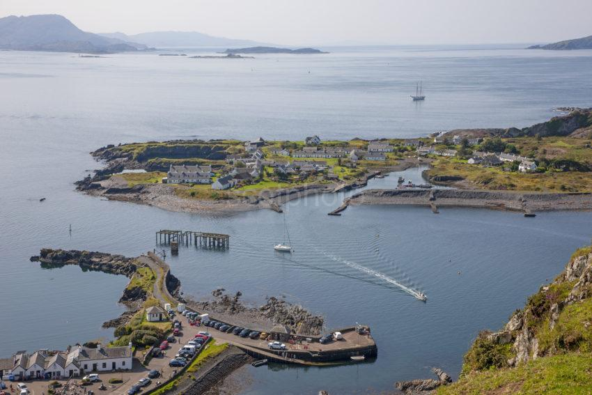 354ecf53 1z6e7435 Easdale Island From Above Ellenabeich