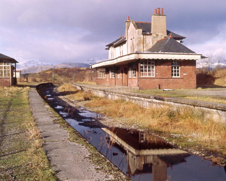 Old Appin Station On The Disused West Highland Line