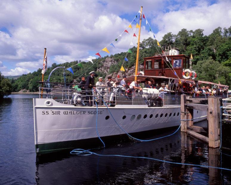 Sir Walter Scott Boat On Loch Katrine Trossachs