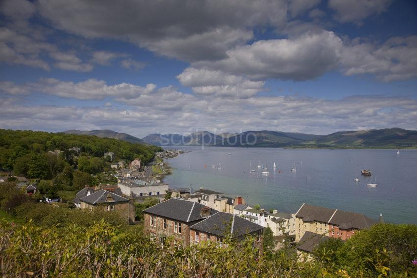 View Looking East From Rothesay
