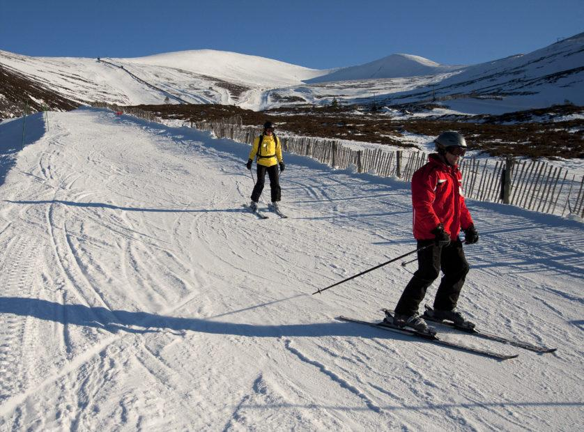 Skiers Cairngorms