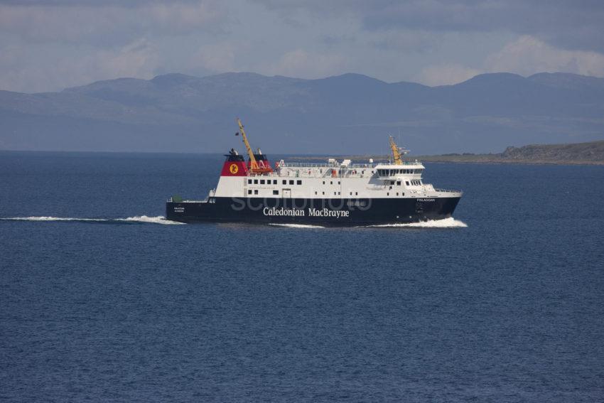 MV Finlaggan At Speed Near Kintyre Coast MEDIUM FILE