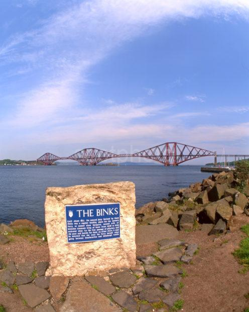 The Forth Railway Bridge From The Binks Firth Of Forth