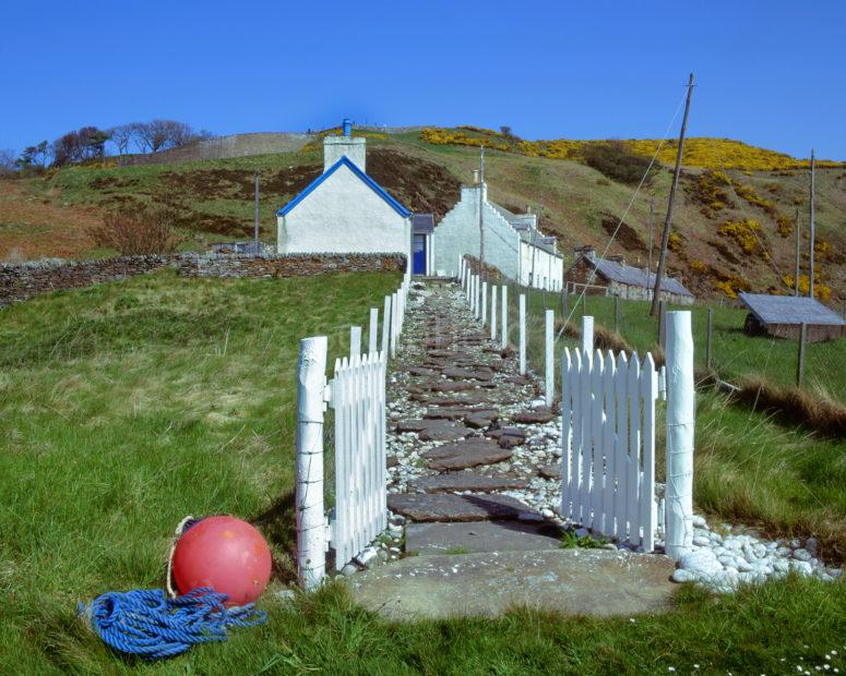 Cottages In Berriedale Caithness Coastline