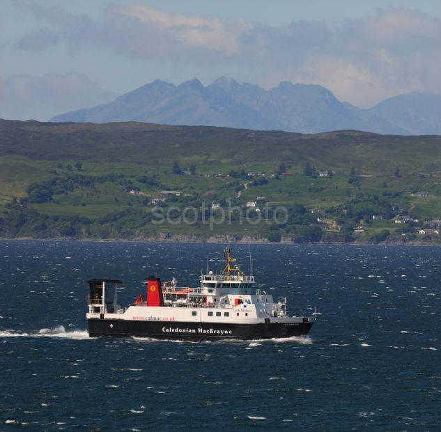 DSC 5903 Loch Nevis Passes The Cuillins And Sleat Skye