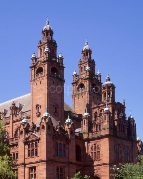 Kelvingrove Museum Art Gallery In Baroque Style City Of Glasgow