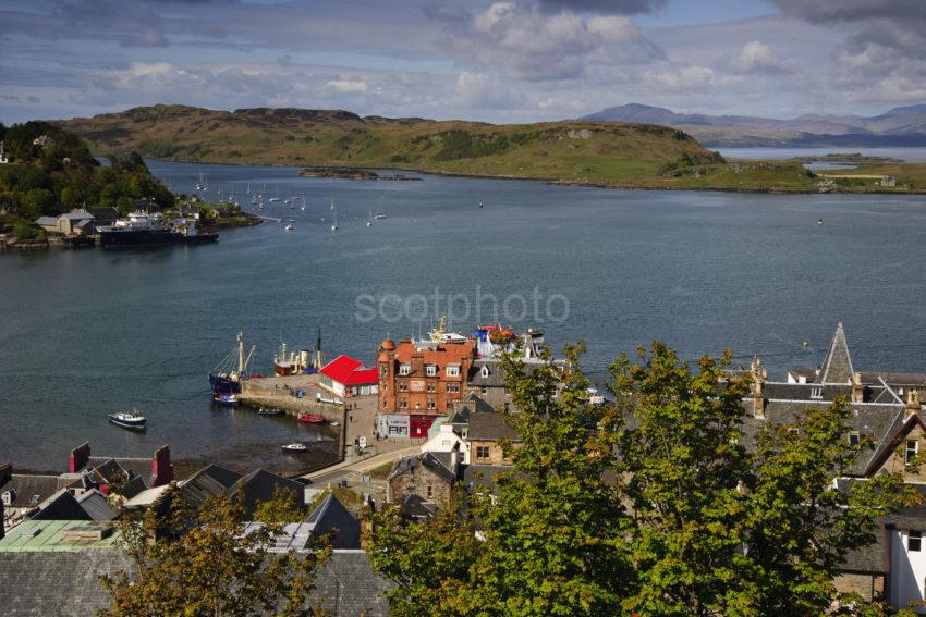 Oban Bay From MaCaigs Tower May2012