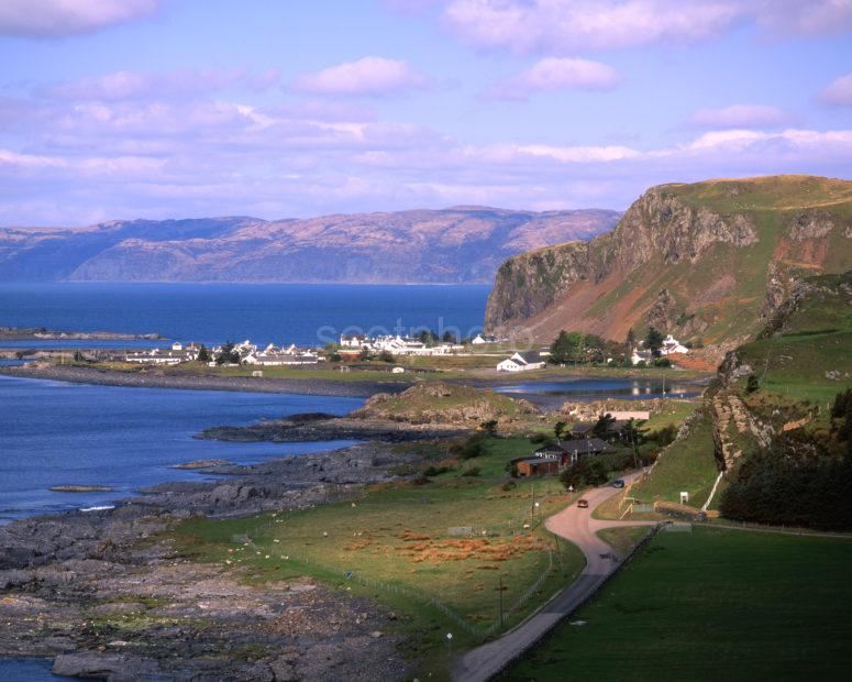 Towards Ellenabeich And Coastline Of Mull