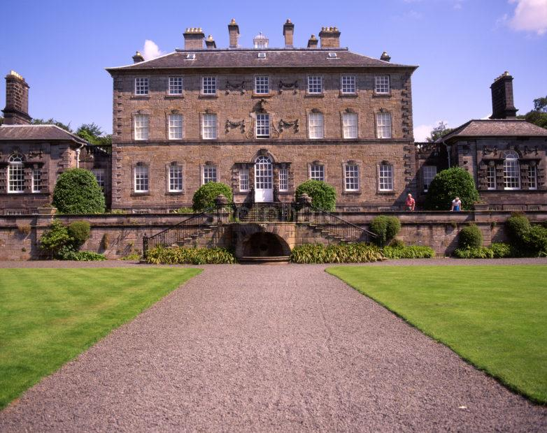 Beautiful Pollok House 1752 Home Of Maxwell Family Nr Glasgow Burrell Colection