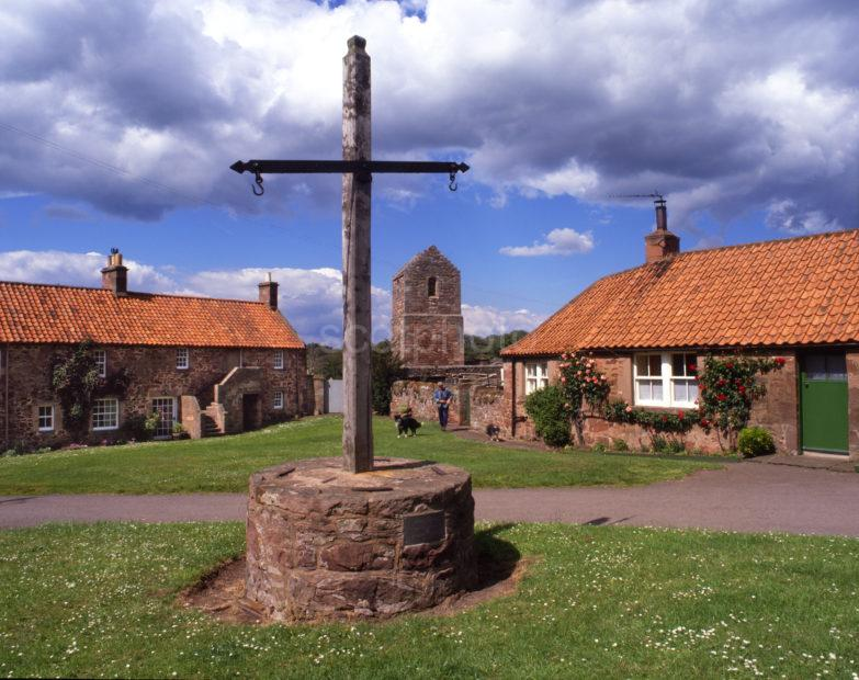 Stenton Village Or Stone Town Dates From 15th Cent East Lothian