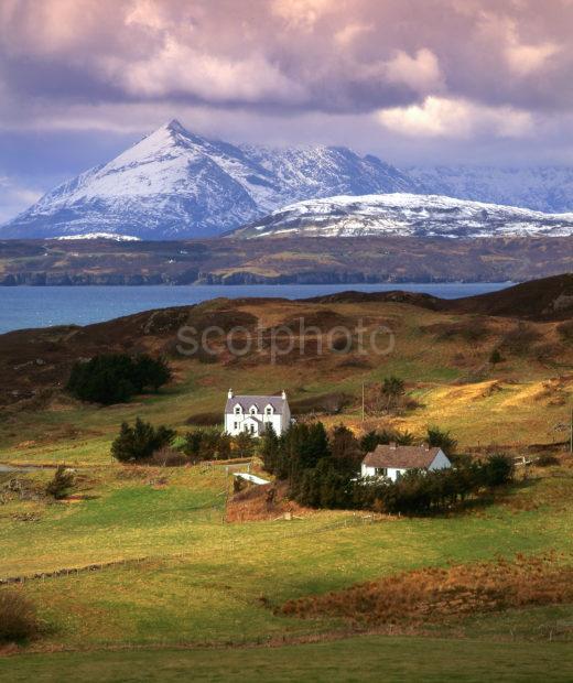 Towards The Cuillins From Tarscavaig Sleat Skye