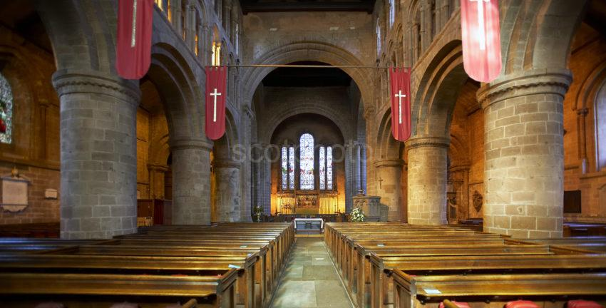 Inside St John Church Chester